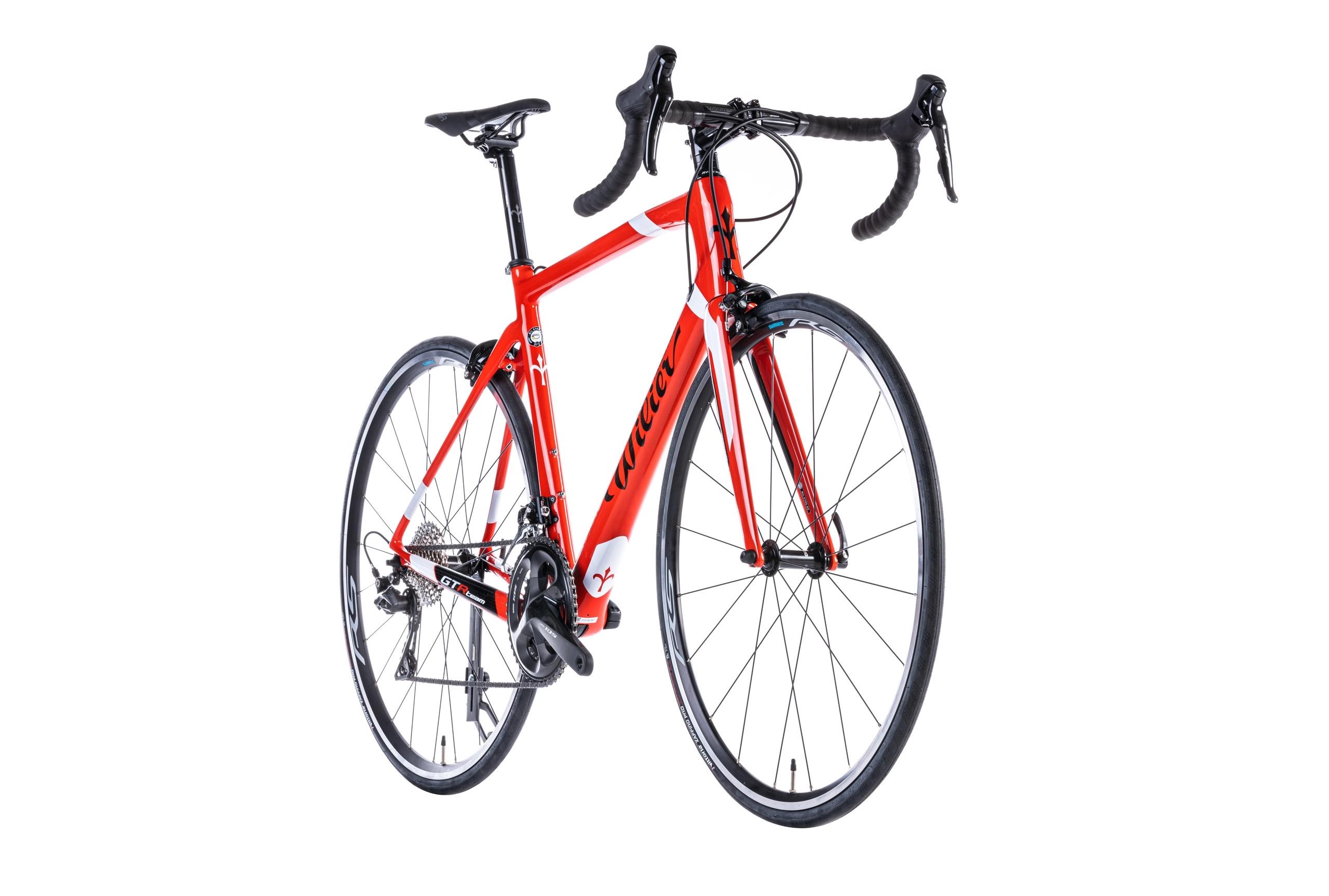 kolo GTR TEAM Ráf.+SH105+RS100 red white L