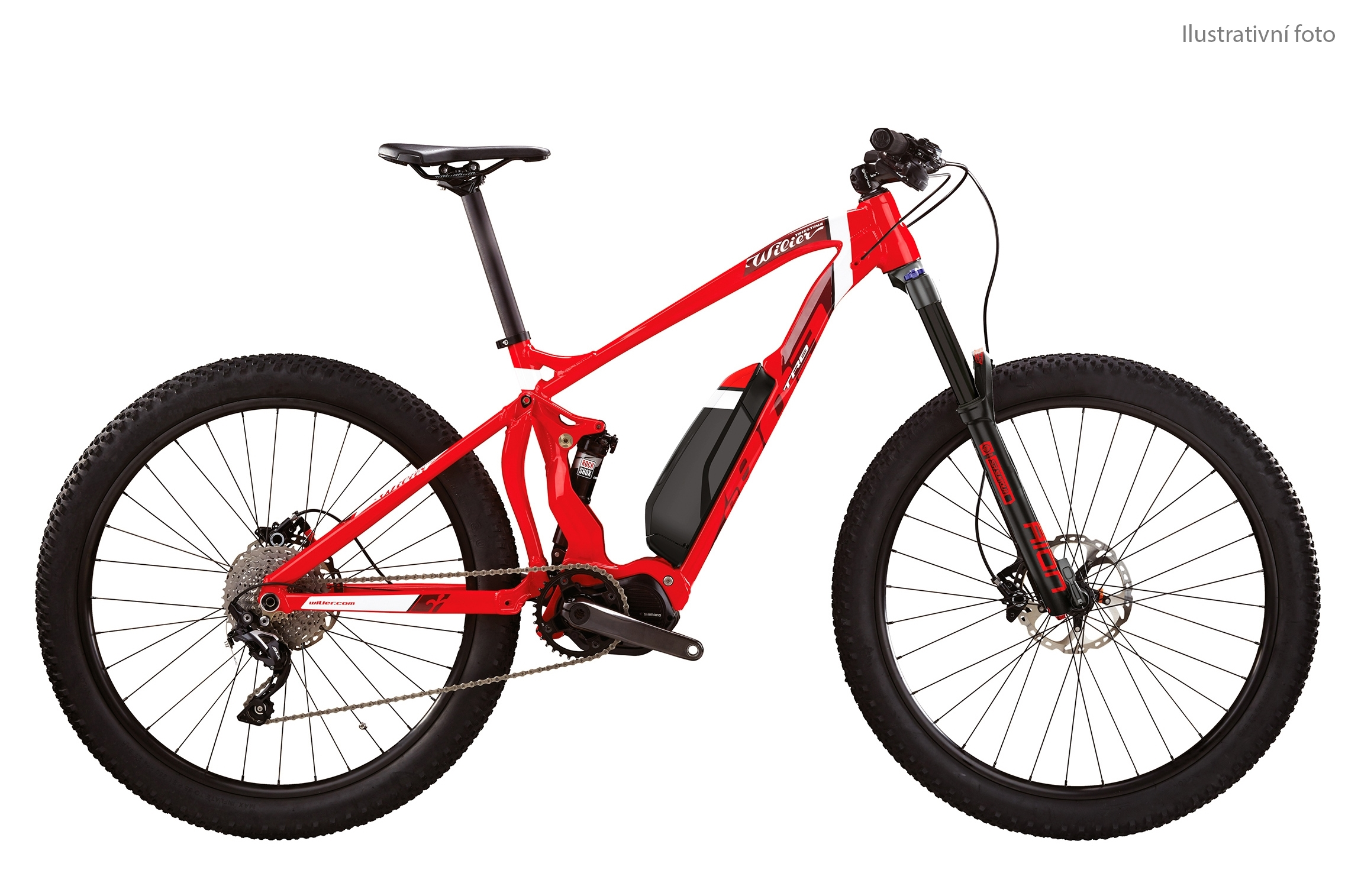 "kolo MTB 27,5"" E-Bike 803TRB Comp DEORE 1x10 red M"