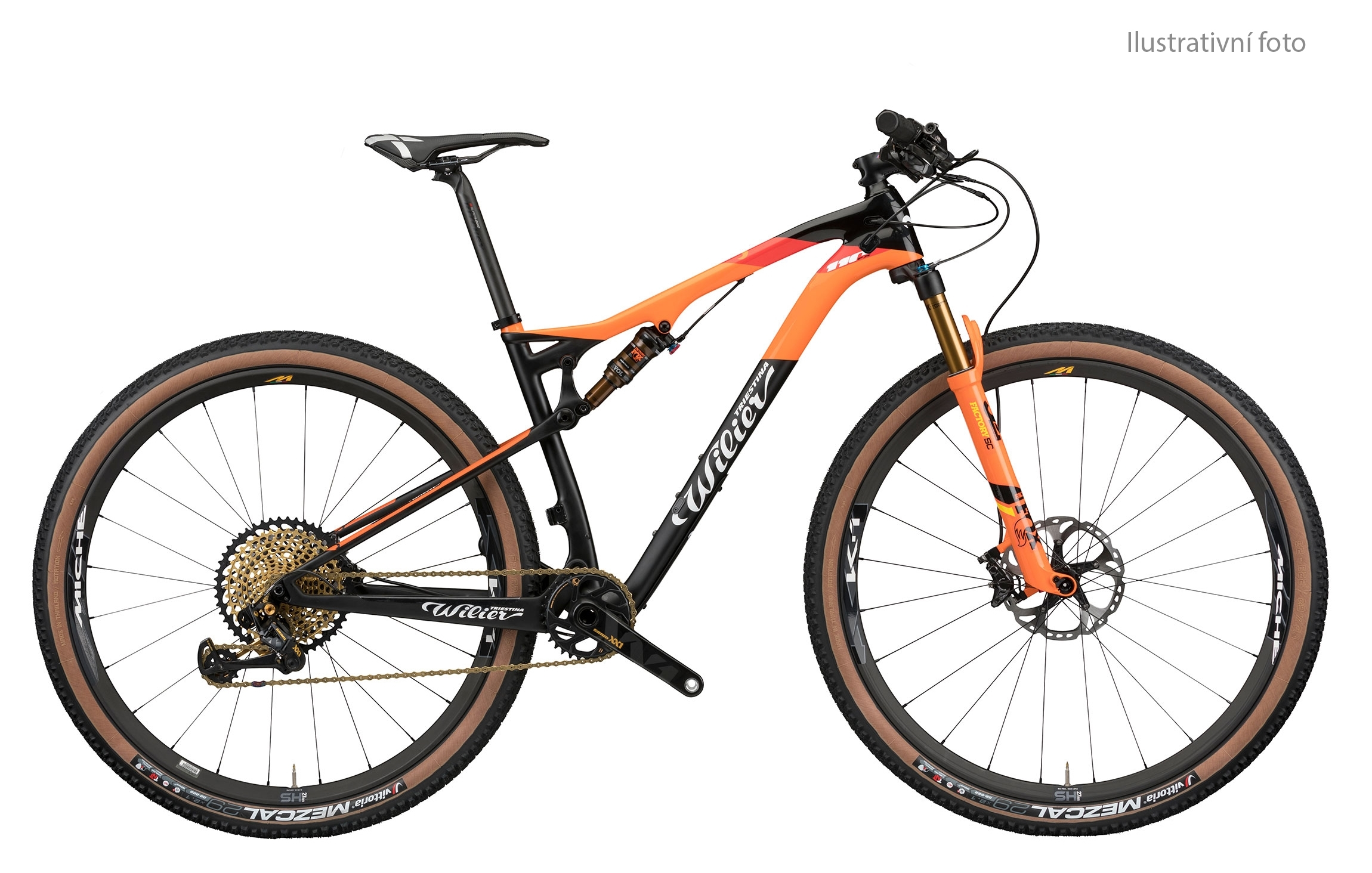 "kolo MTB 29"" 110FX XT 1x12+SID+MICHE 966 orange XL"