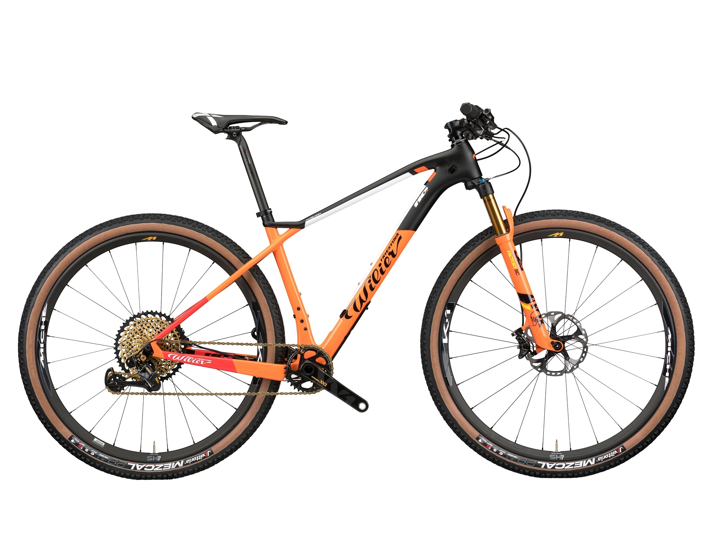 "kolo MTB 29"" 110X XT 1x12+FOX+MICHE 966 orange   M"