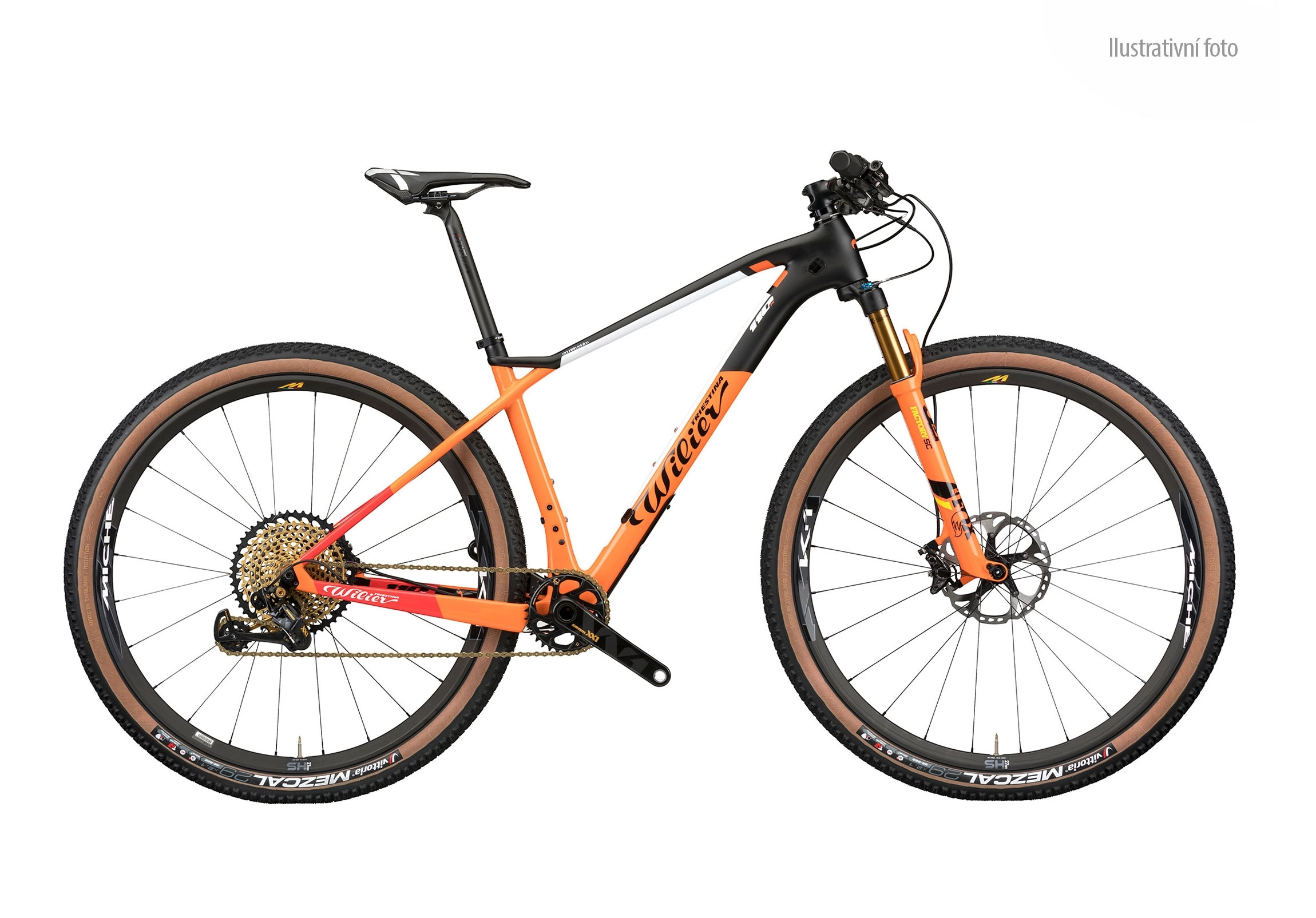 "kolo MTB 29"" 110X XT 1x12+SID+MICHE 966 orange   M"