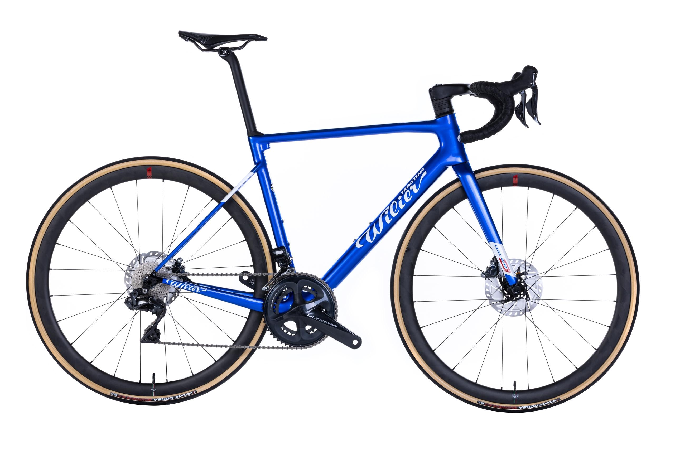 kolo ZERO SLR Disc + ULTEGRA Di2+SLR38 blue XL