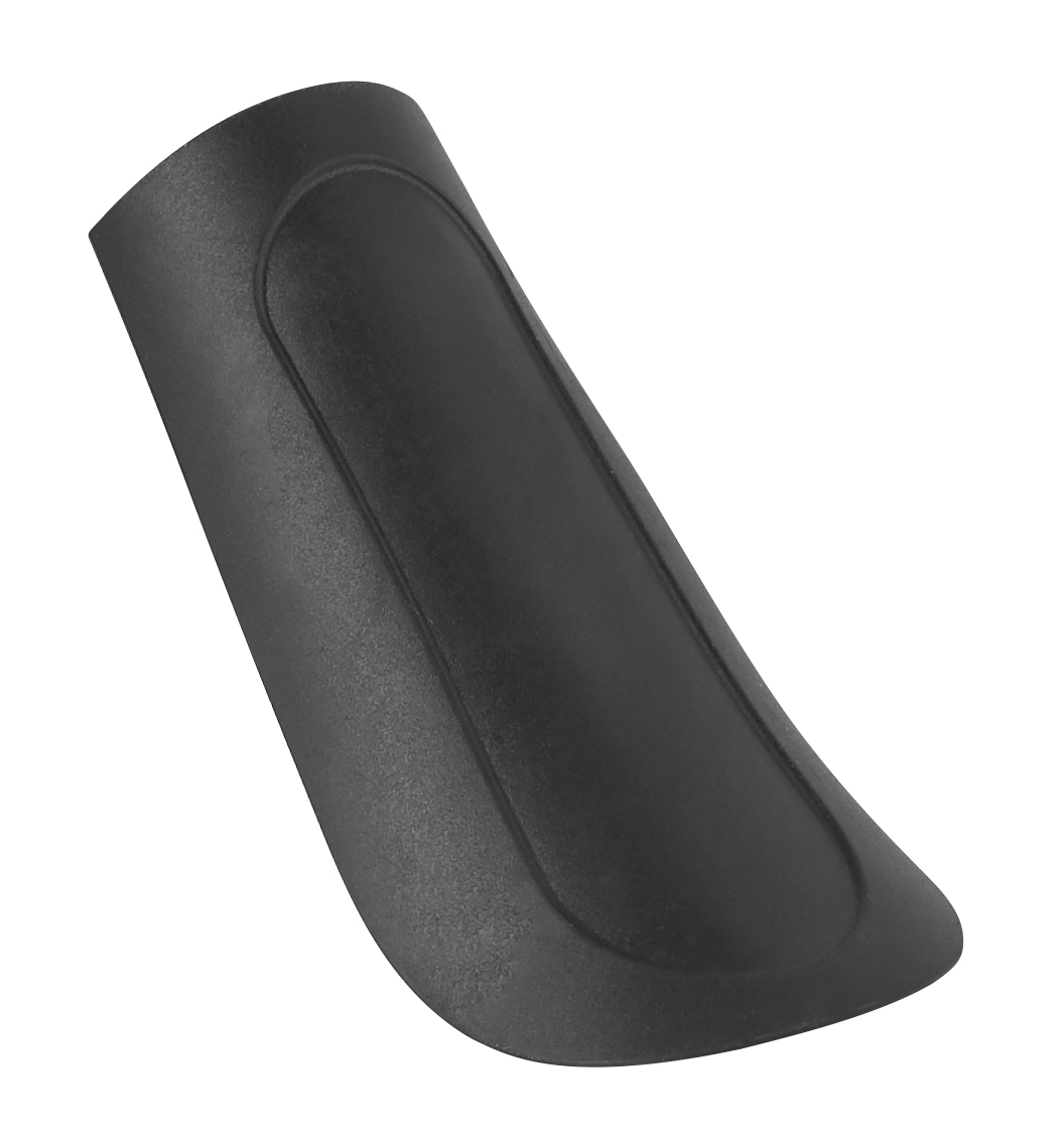 koncovka blatníku FORCE33, plastová, černá