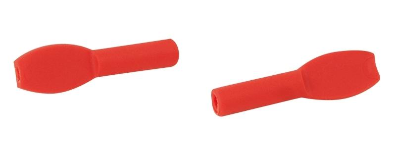 koncovka lanka UNI gumová, červená