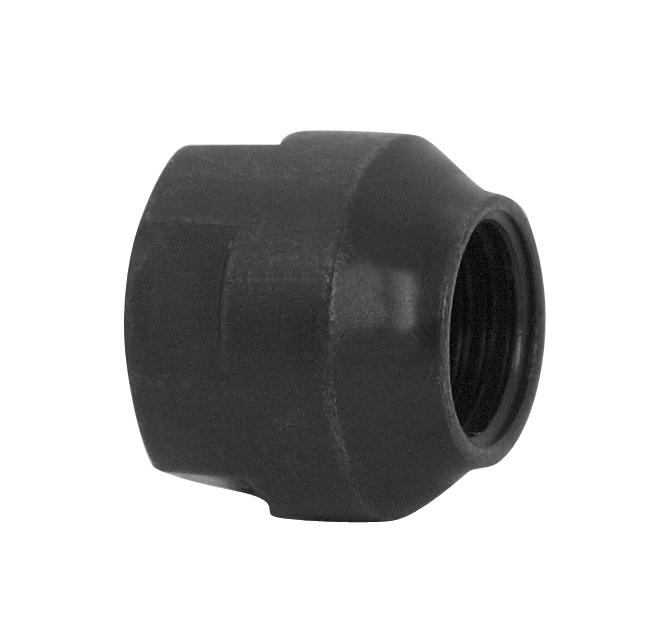 kónus na přední dutou osu 9 mm, černý