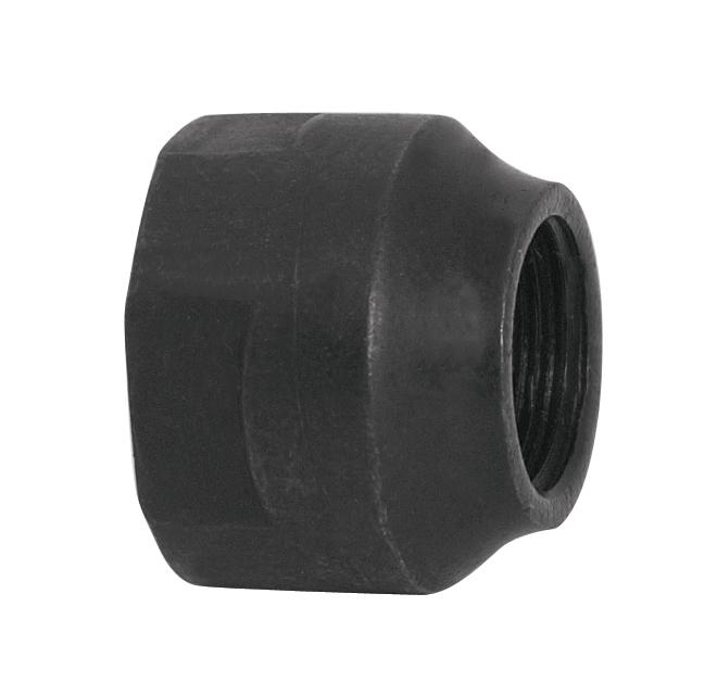kónus na zadní dutou osu 9,5 mm, černý