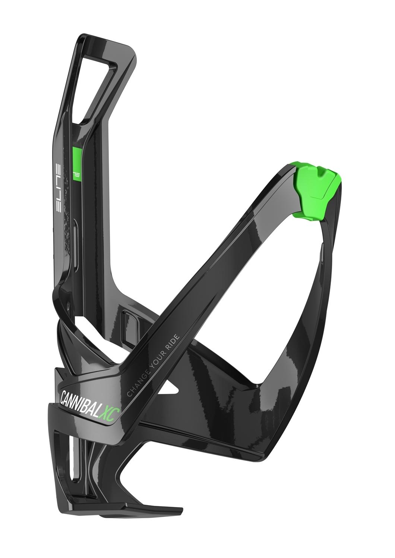 košík láhve ELITE CANNIBAL XC, černo-zelený