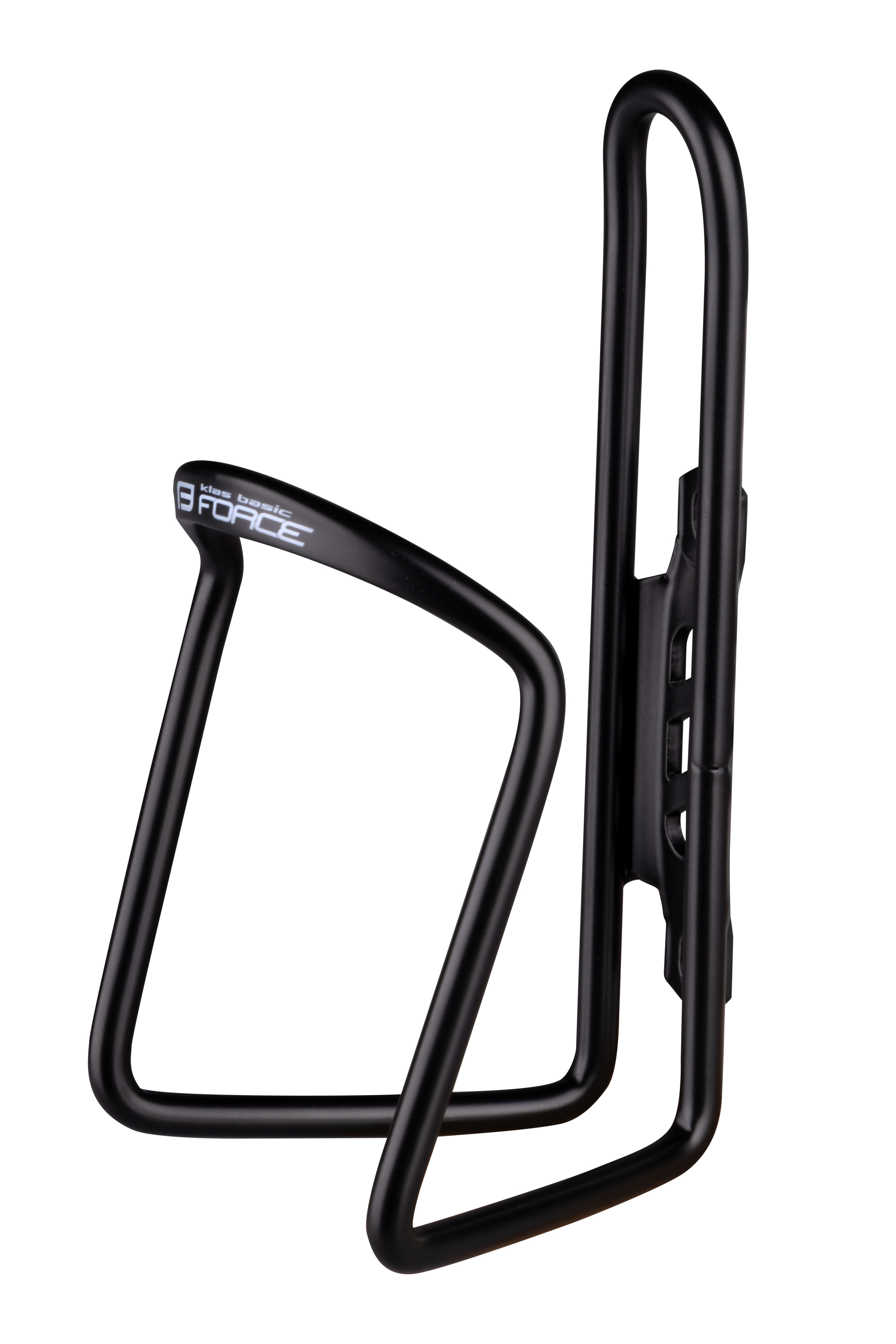 košík láhve FORCE KLAS AI BASIC, černý, lesklý