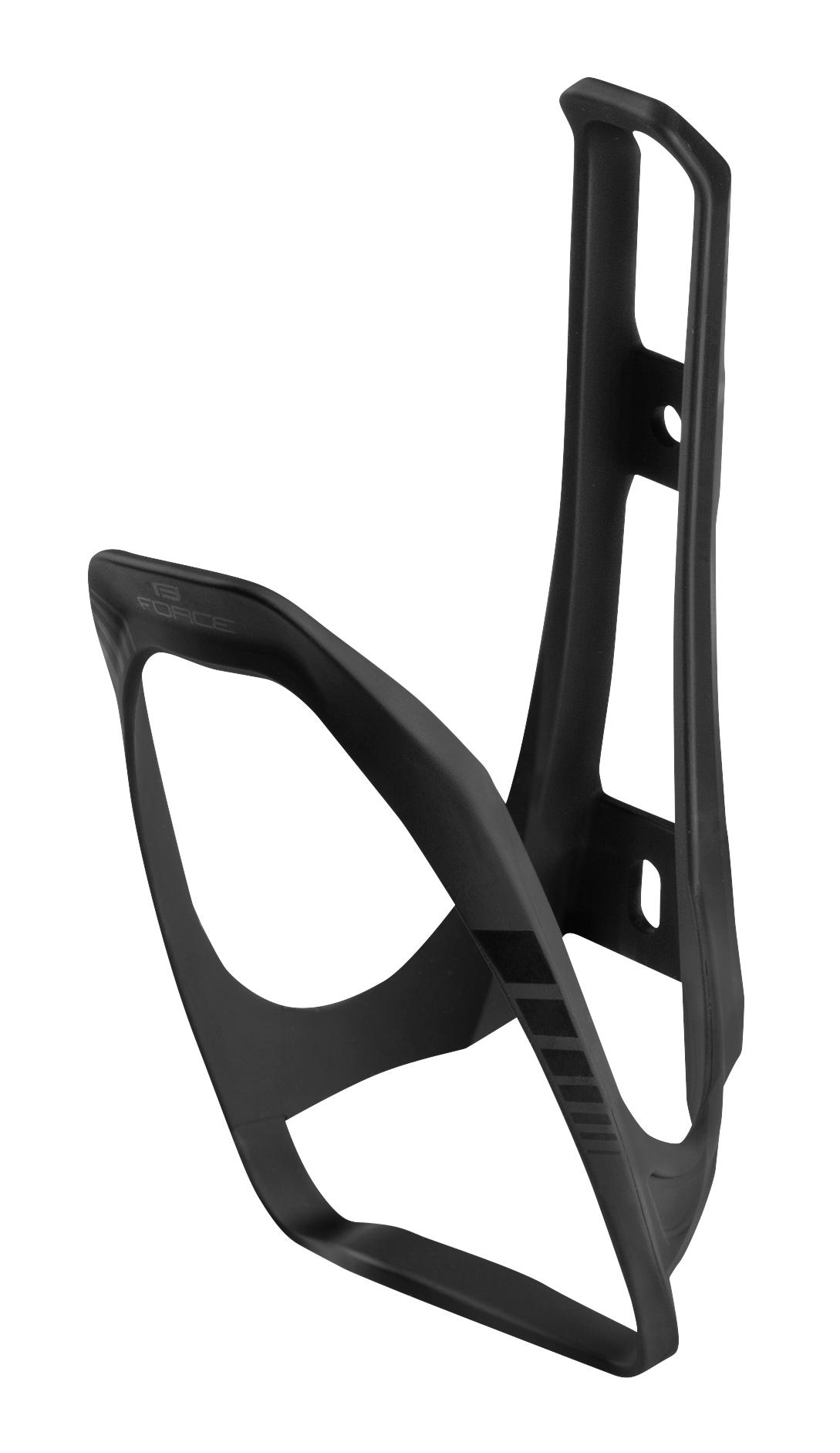 košík láhve FORCE LIMIT plastový, černý matný