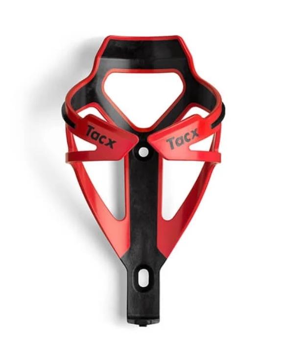 košík láhve TACX DEVA, černo-červený
