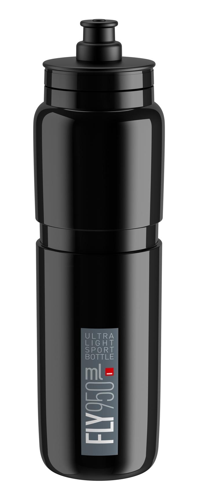 láhev ELITE FLY 0,95 l, černá