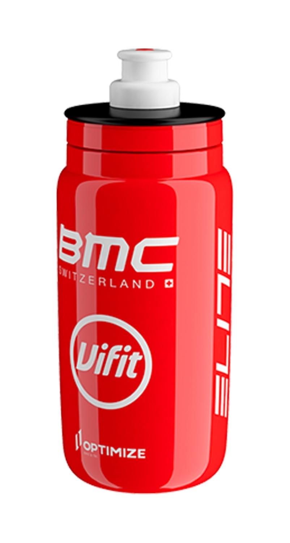 láhev ELITE FLY TEAM BMC 0,55 l, stříbrná