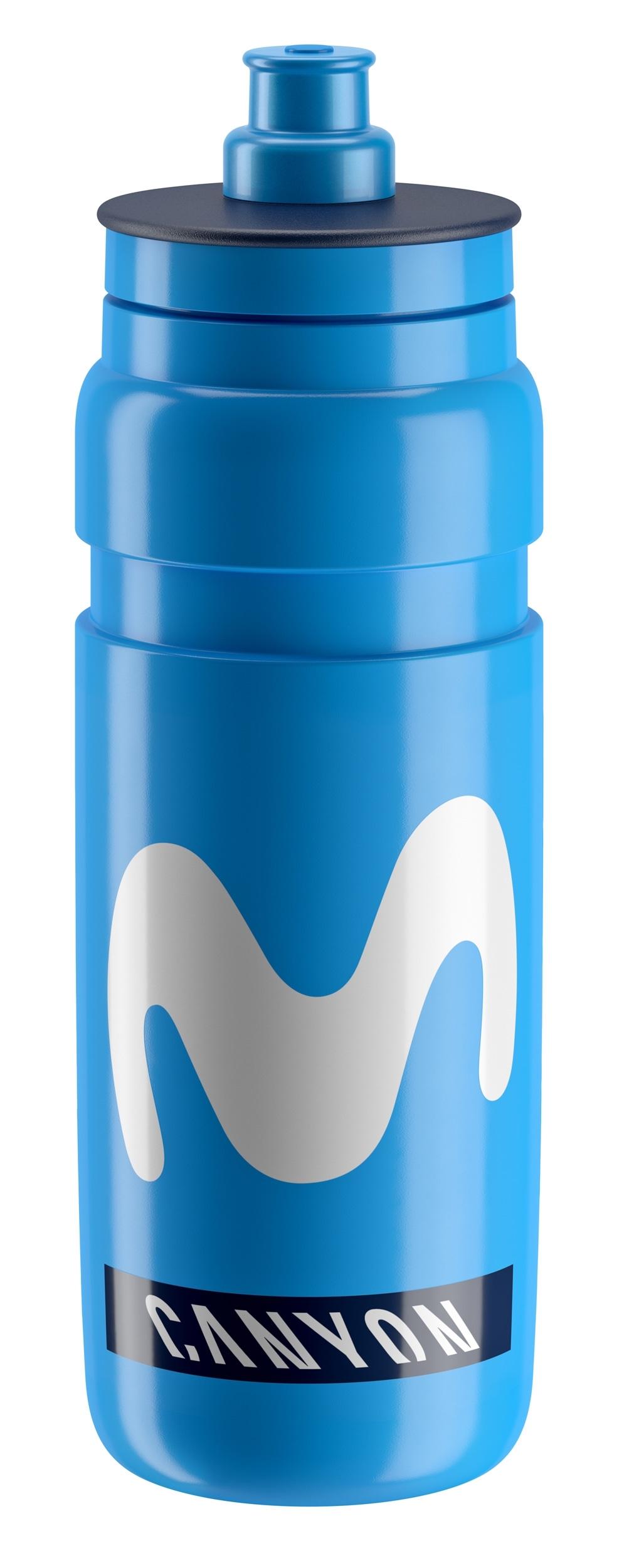 láhev ELITE FLY TEAM MOVISTAR 0,75 l, modrá