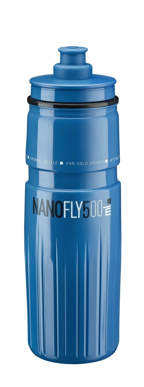 láhev ELITE NANOFLY 0,5 l, termo, modrá