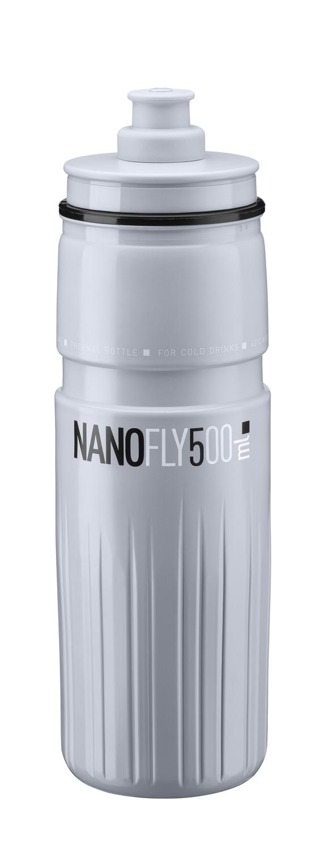 láhev ELITE NANOFLY 0,5 l, termo, šedá