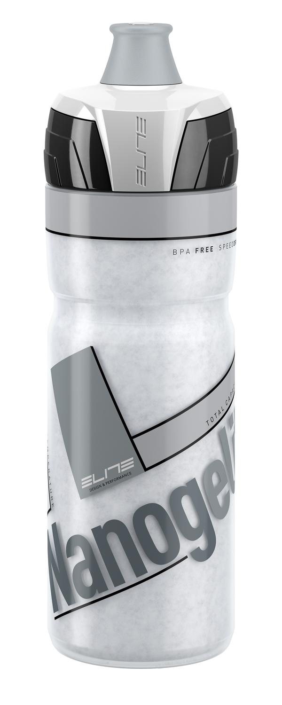 láhev ELITE NANOGELITE 0,5 l, termo, bílá-šedá