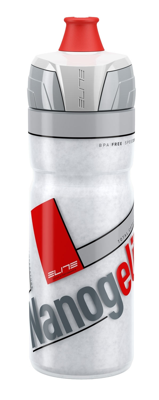 láhev ELITE NANOGELITE 0,5 l, termo, bílo-červená