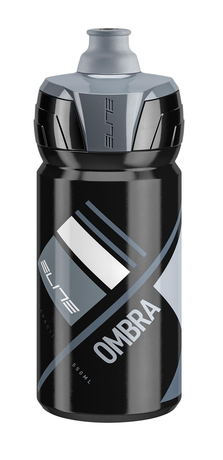 láhev ELITE OMBRA 0,55 l, černo-šedá