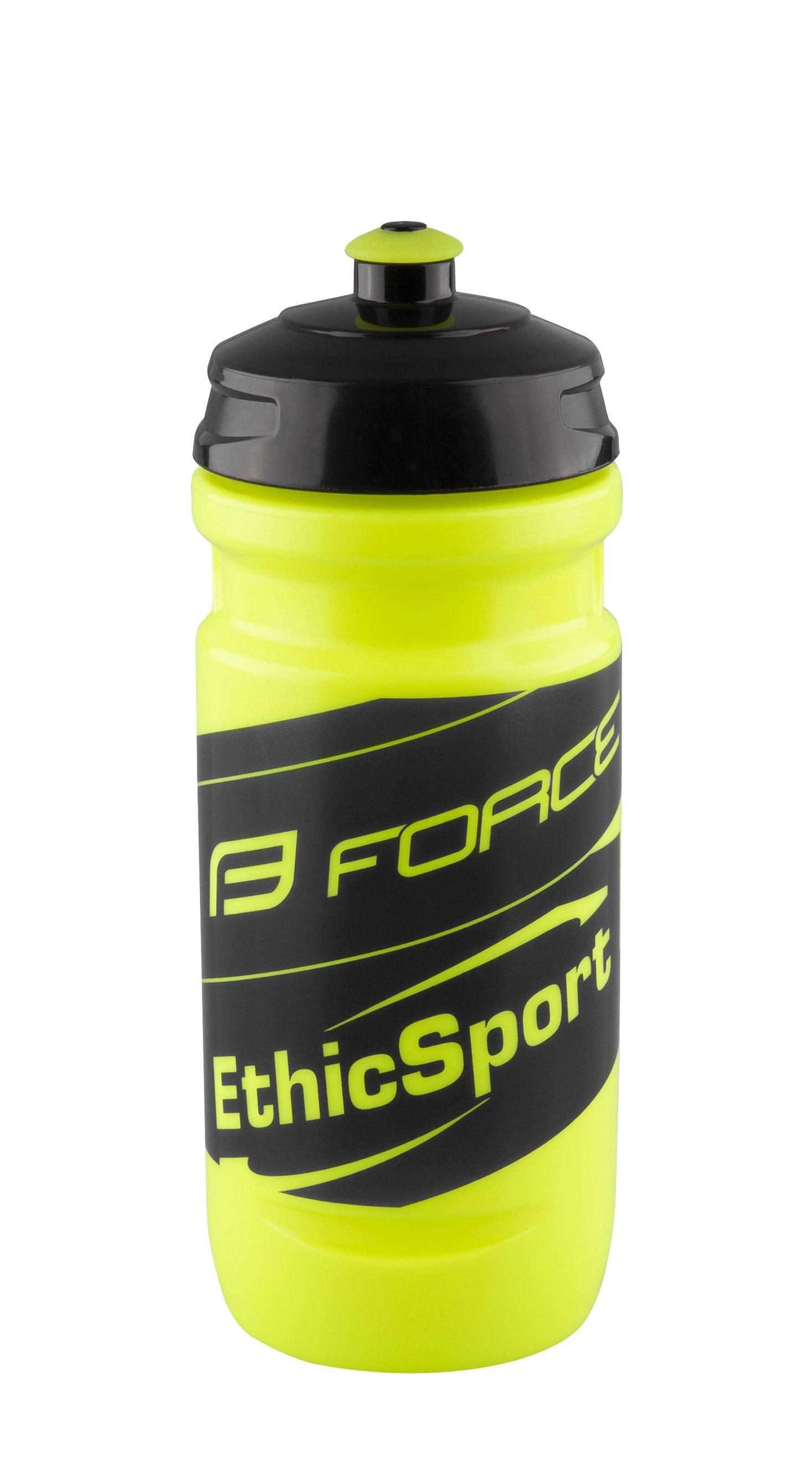 láhev FORCE-ETHIC SPORT 0,6 l, fluo-černá