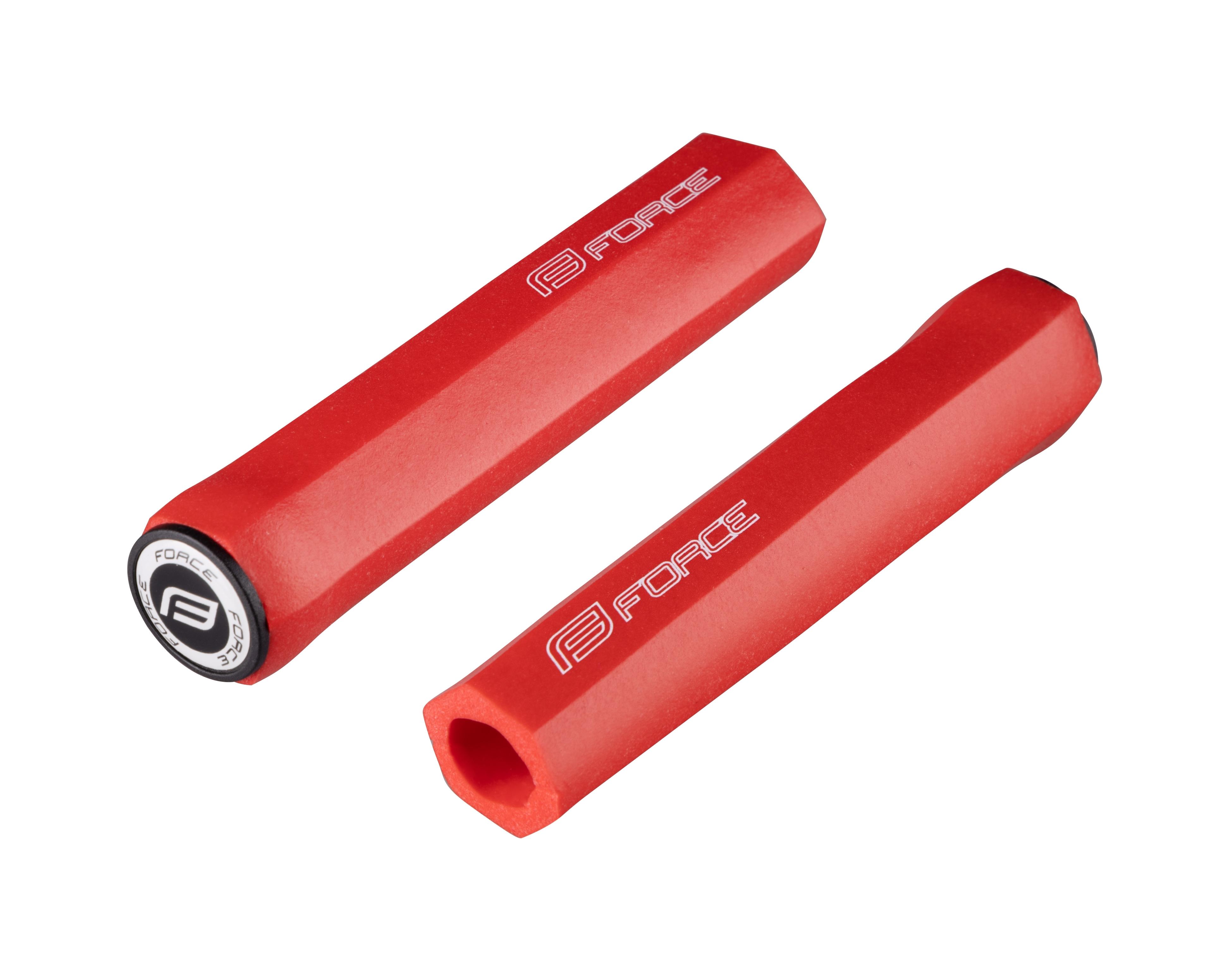 madla FORCE HEX silikon-pěna, hranatá, červená, balená