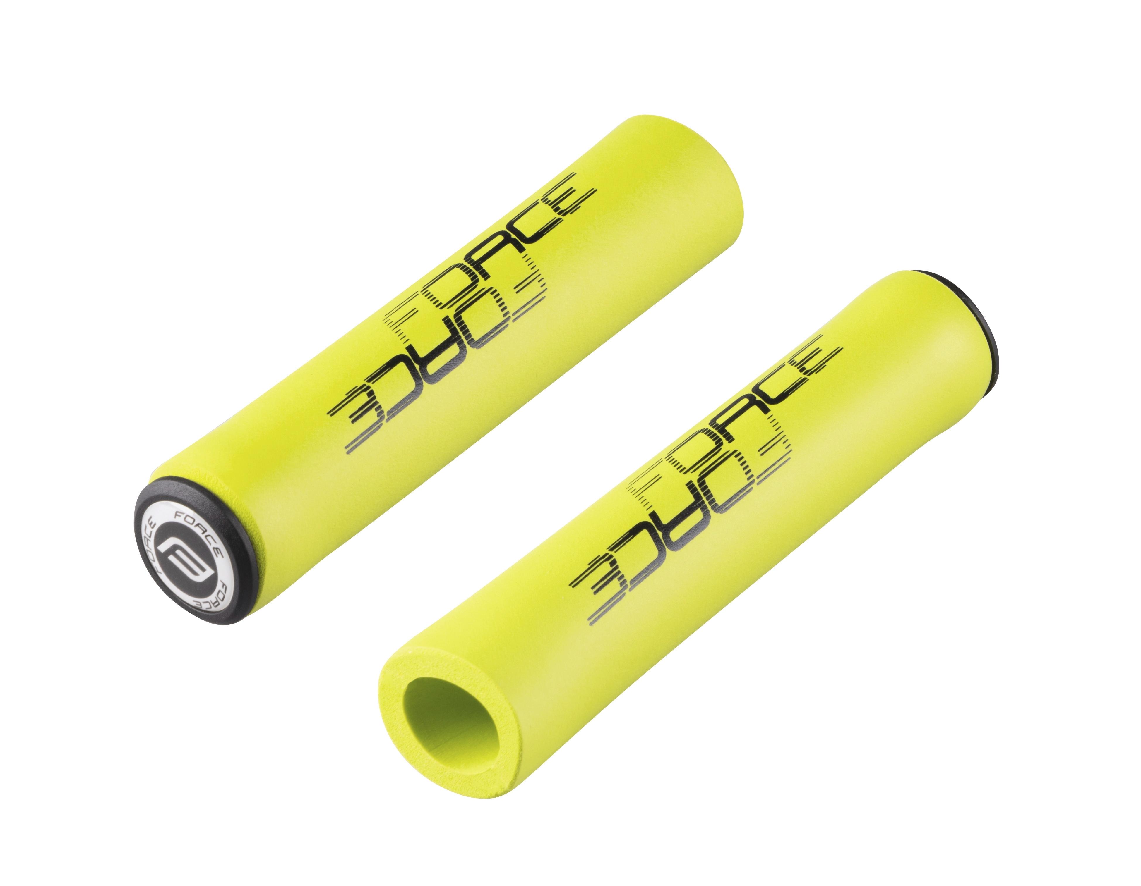 madla FORCE LOX silikonová, fluo zelená, balená