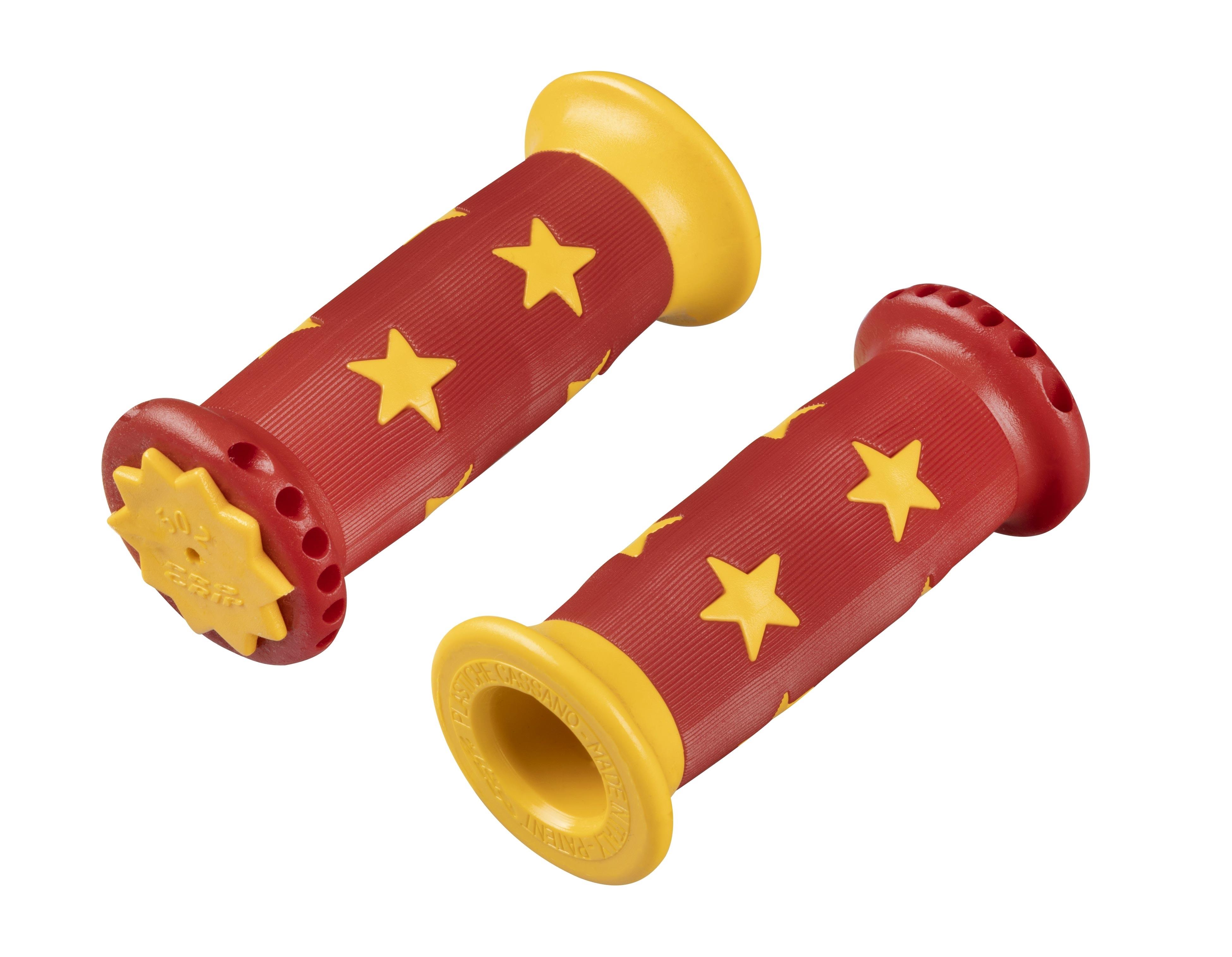madla STAR gumová dětská, červeno-žlutá, OEM