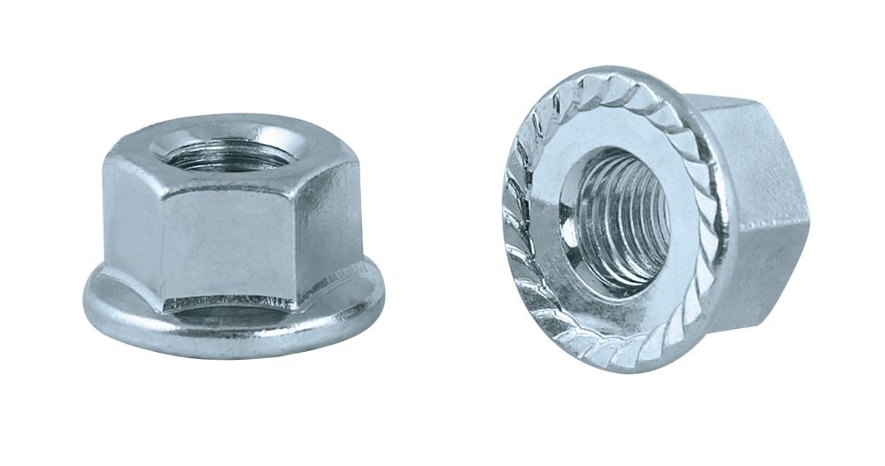 matice přední osy 8 mm s přírubou