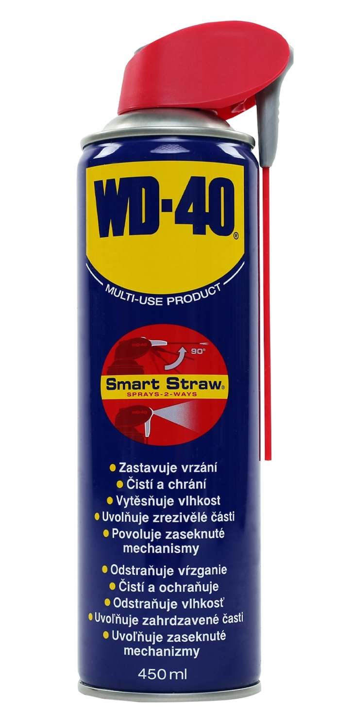 mazivo-sprej WD-40, Smart Straw, 450ml