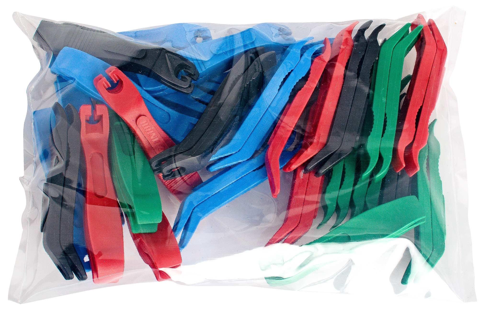 montážní páčky UNIOR plastové sada 27ks k doplnění