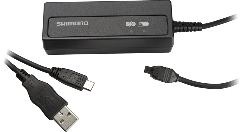nabíječka SHIMANO Di2 SMBCR2   pro integr. baterii