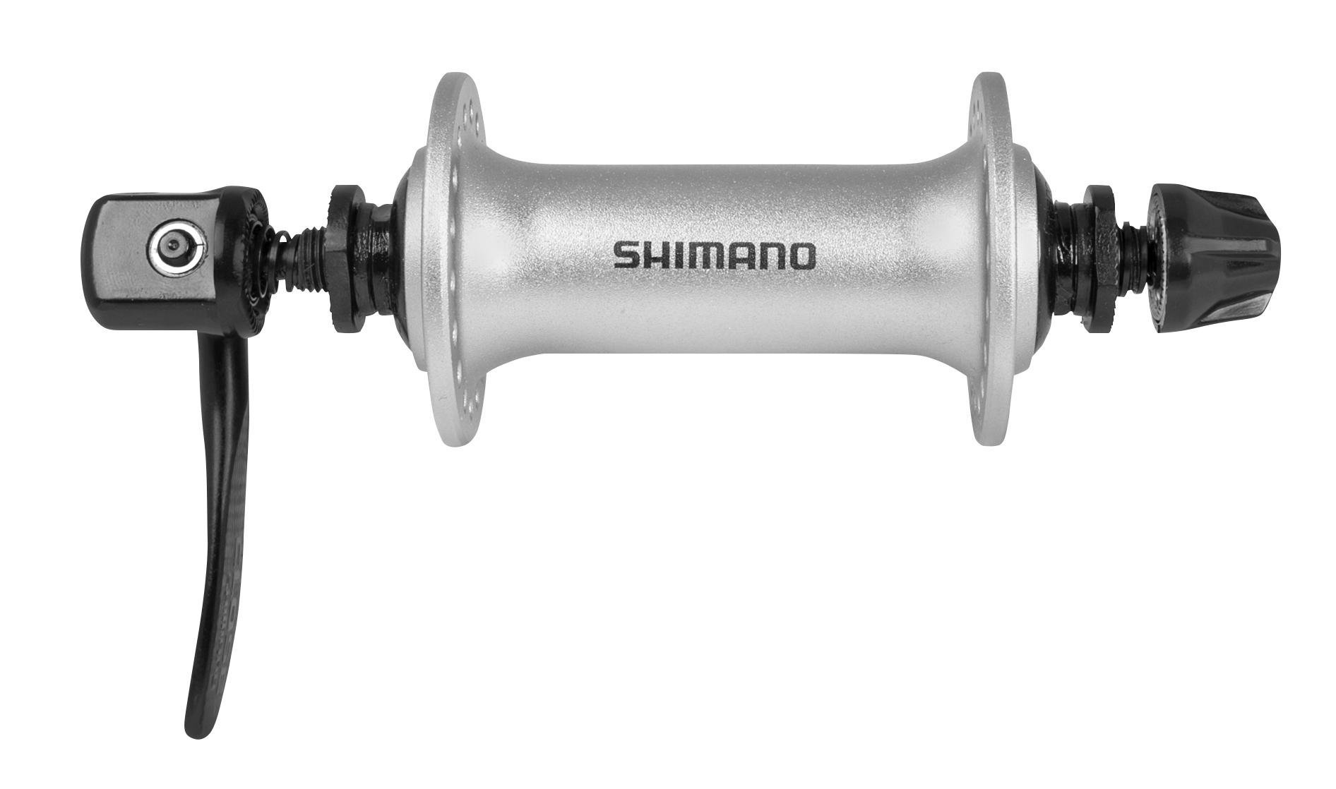 náboj přední HBT3000               stříbrný 36 děr