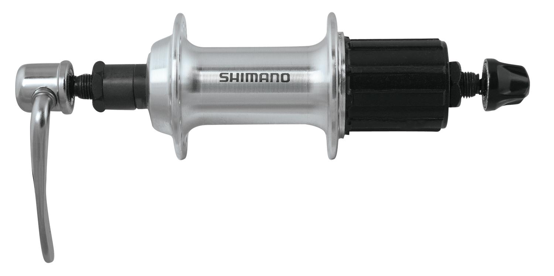 Shimano náboj zadní FHTX800AZAL stříbrný 8 k 36 děr