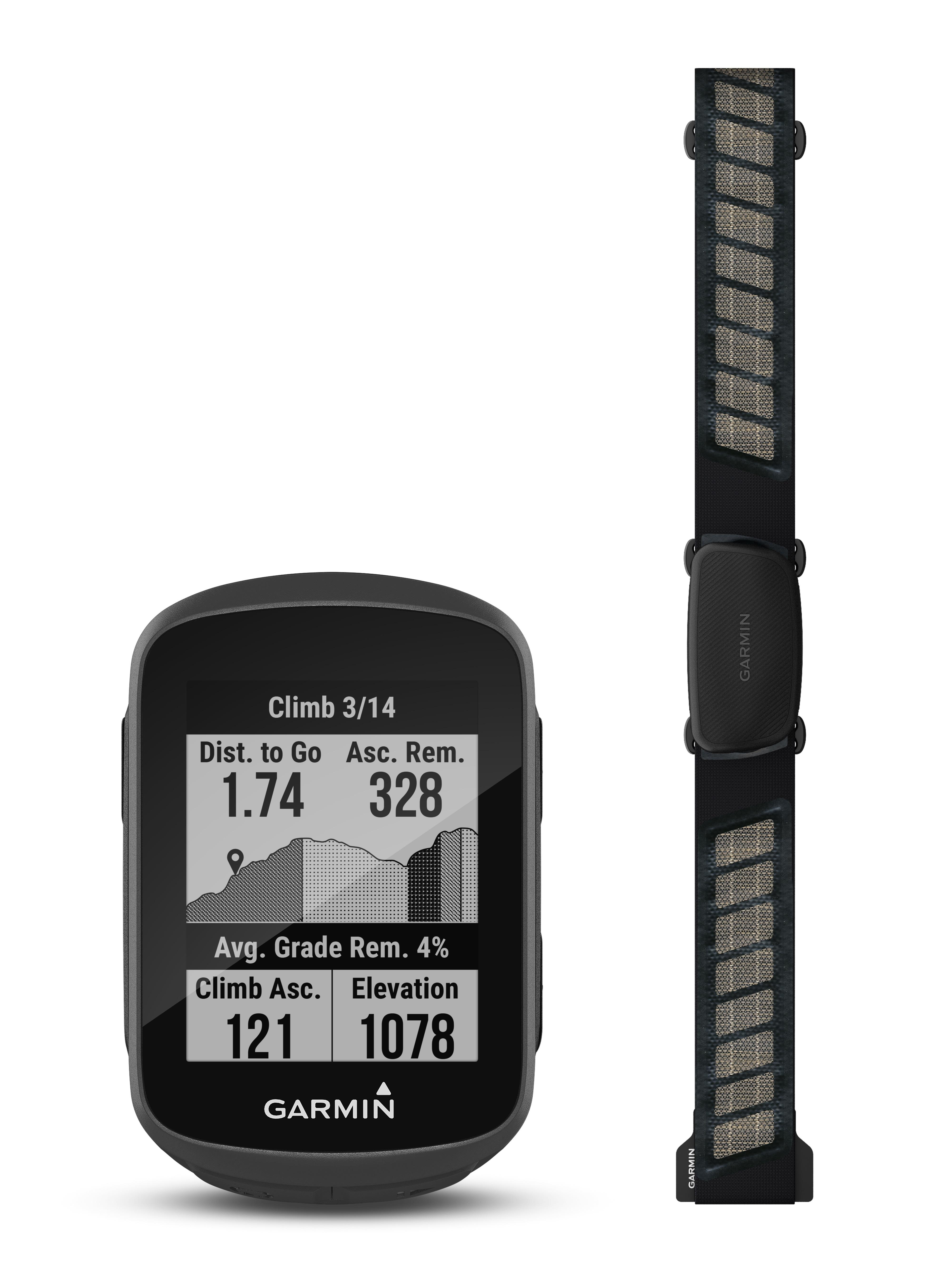 navigace GARMIN Edge 130 Plus HR Bundle