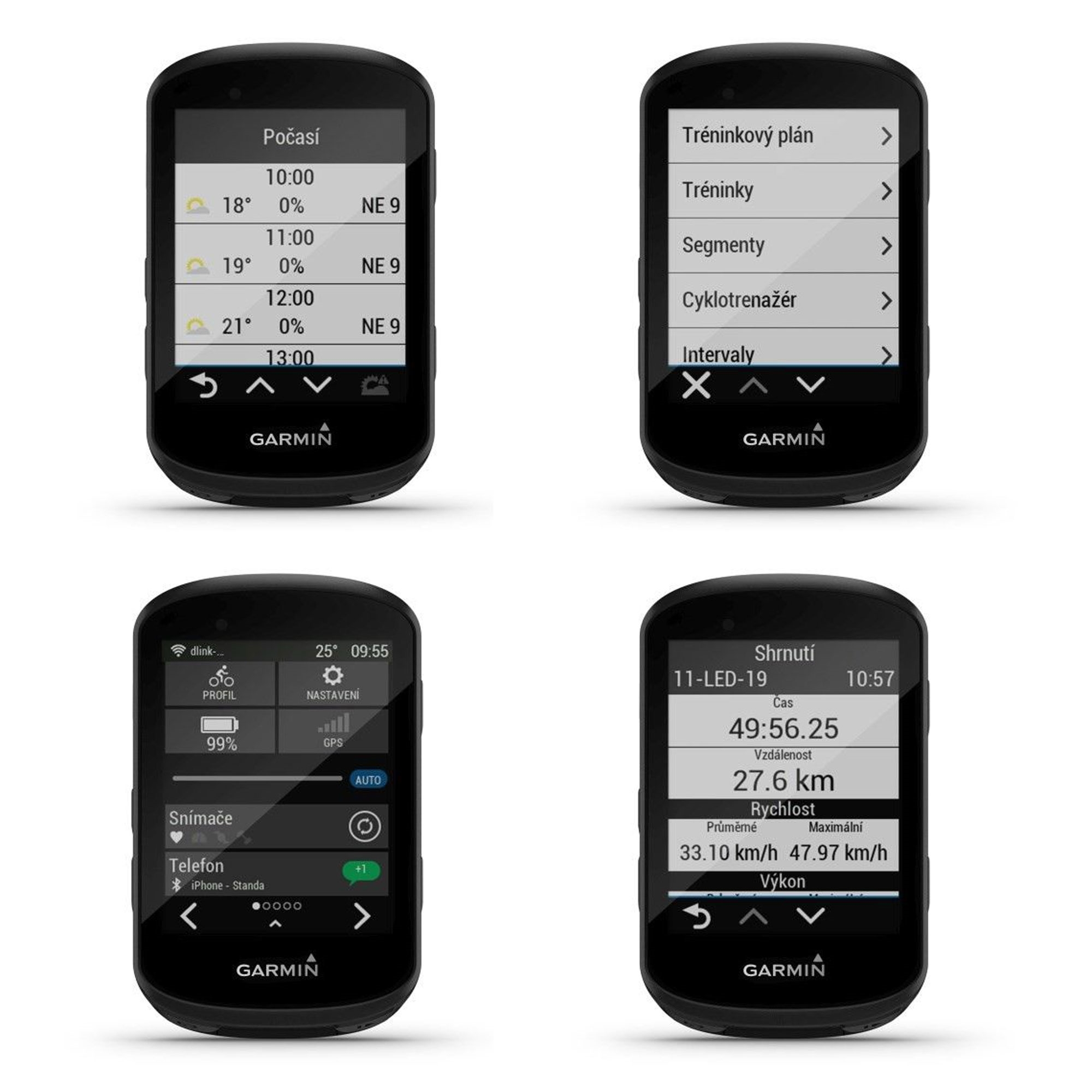 navigace GARMIN Edge 530 Pro Sensor Bundle HR od ninex.cz