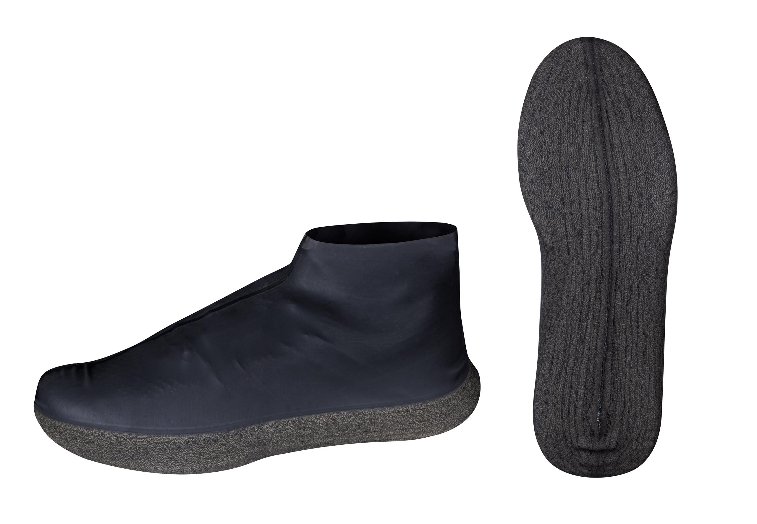 návleky bot VELOTOZE ROAM latex, černé M