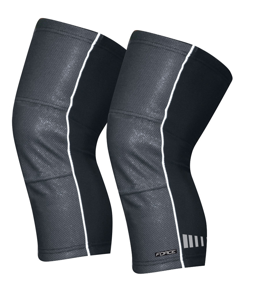 návleky na kolena FORCE WIND-X, černé M