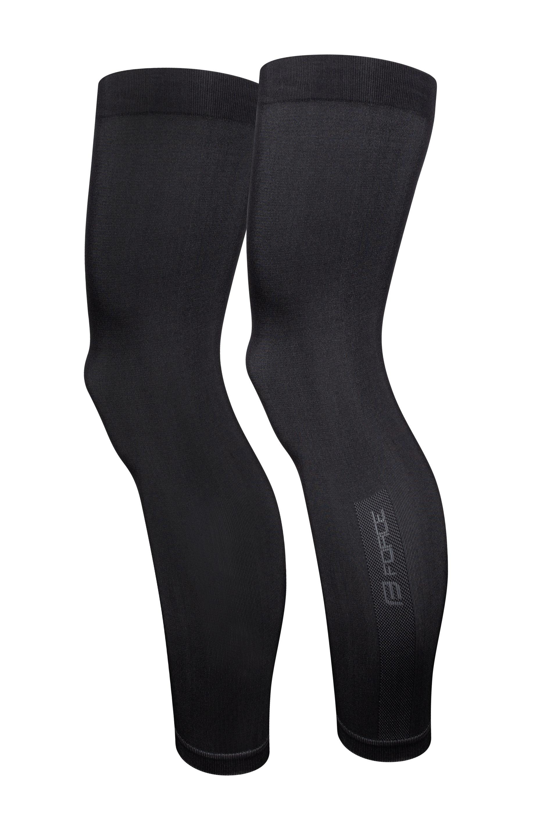 návleky na nohy FORCE BREEZE pletené, černé XL-XXL