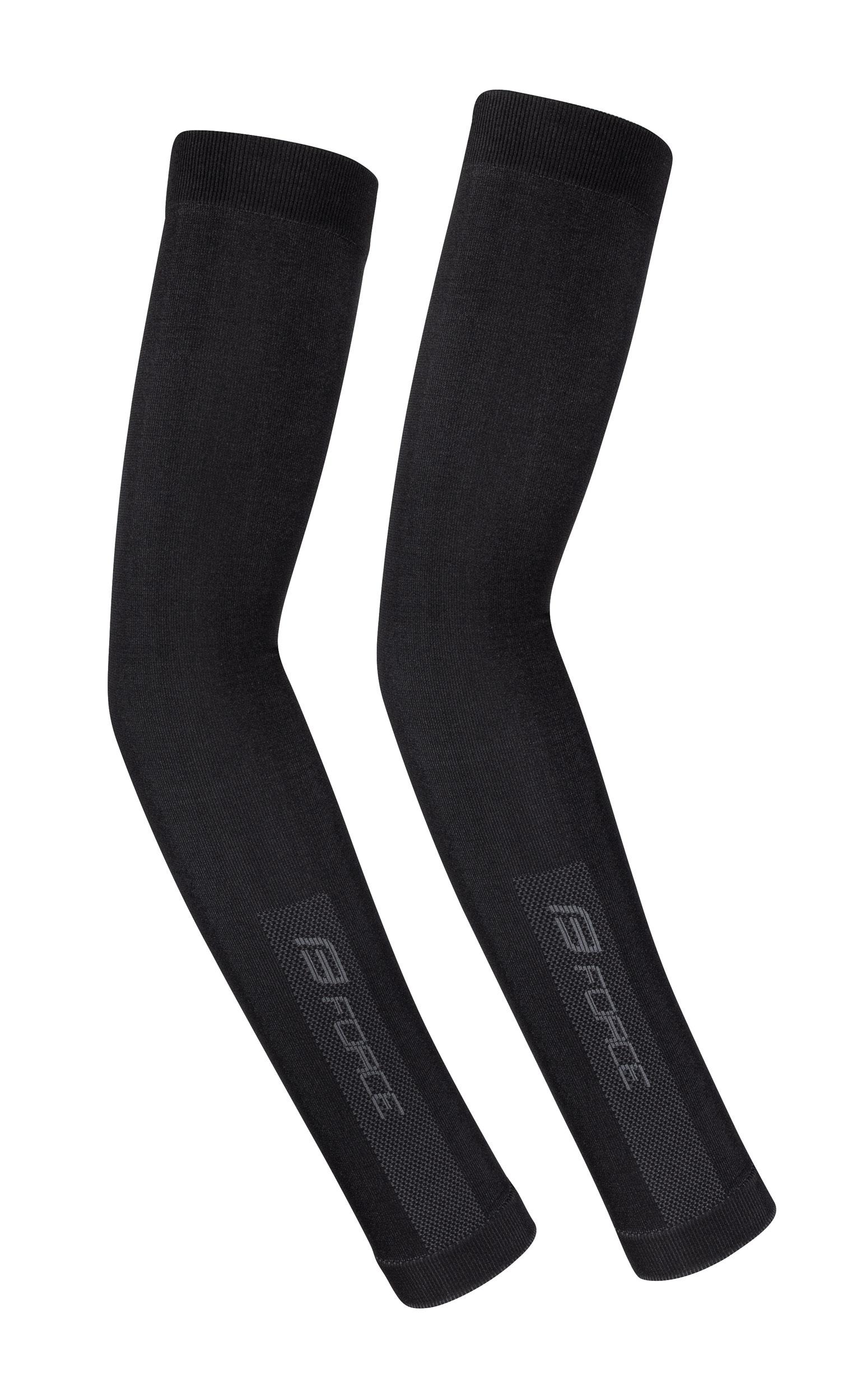 návleky na ruce F BREEZE pletené, černé XL-XXL