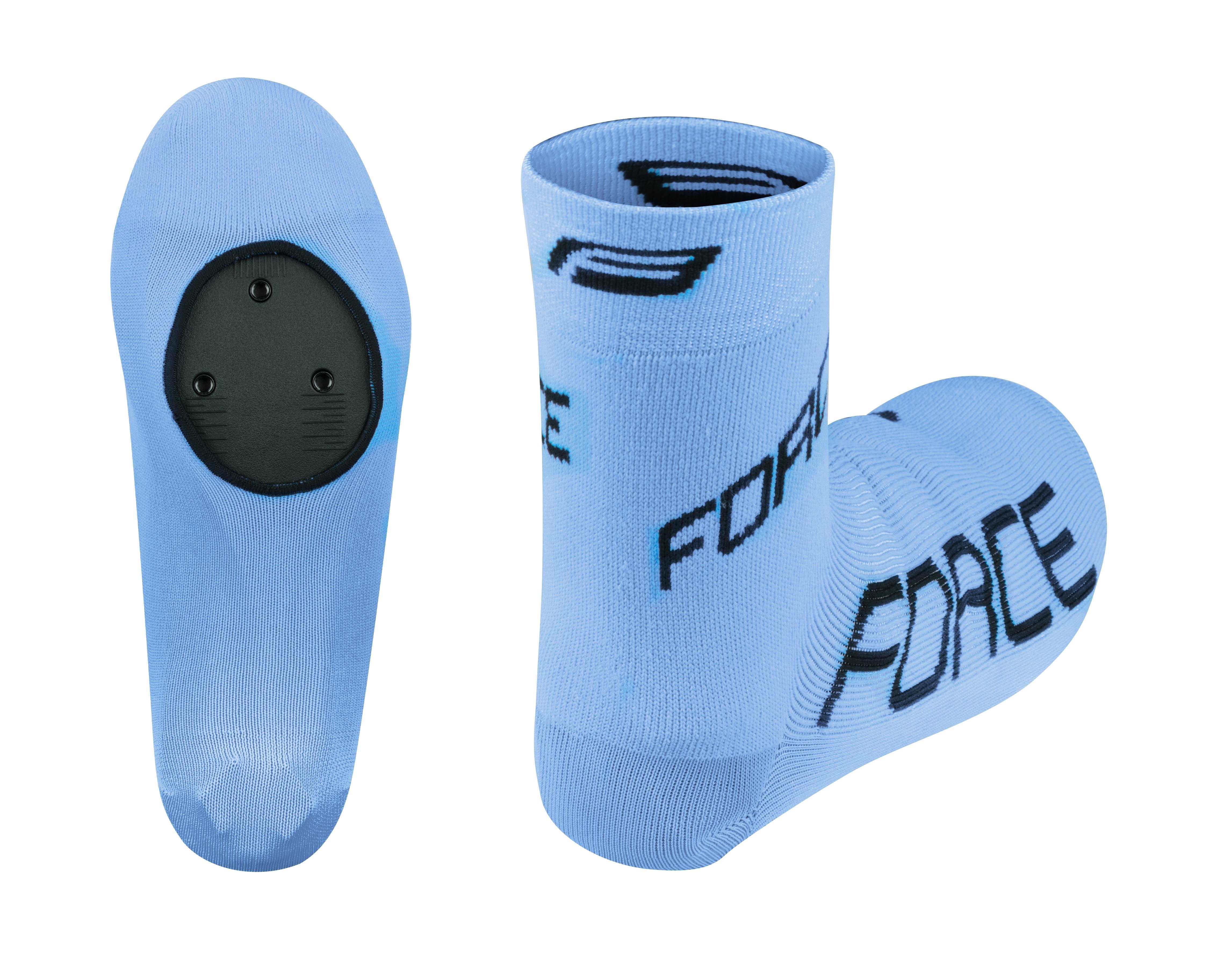 návleky treter FORCE pletené, modré L - XL