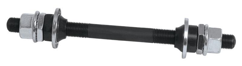 osa náboje přední plná kompletní kalená,140x8 mm