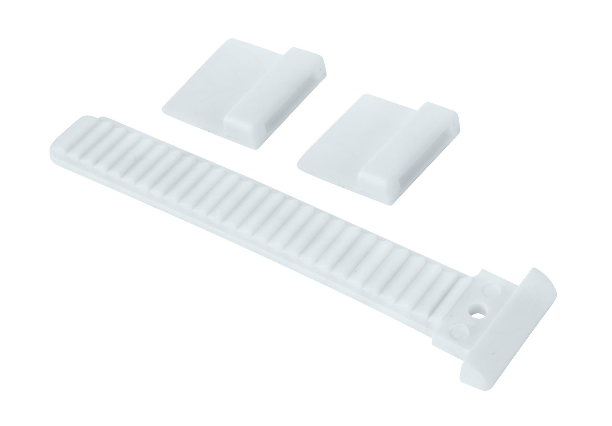 páska náhradní na tretry, bílá