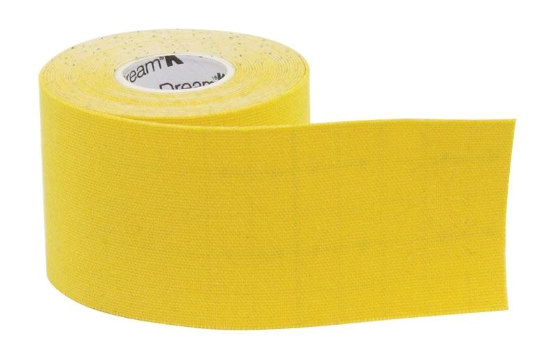 páska tejpovací SIXTUS DREAM-K TAPE žlutá