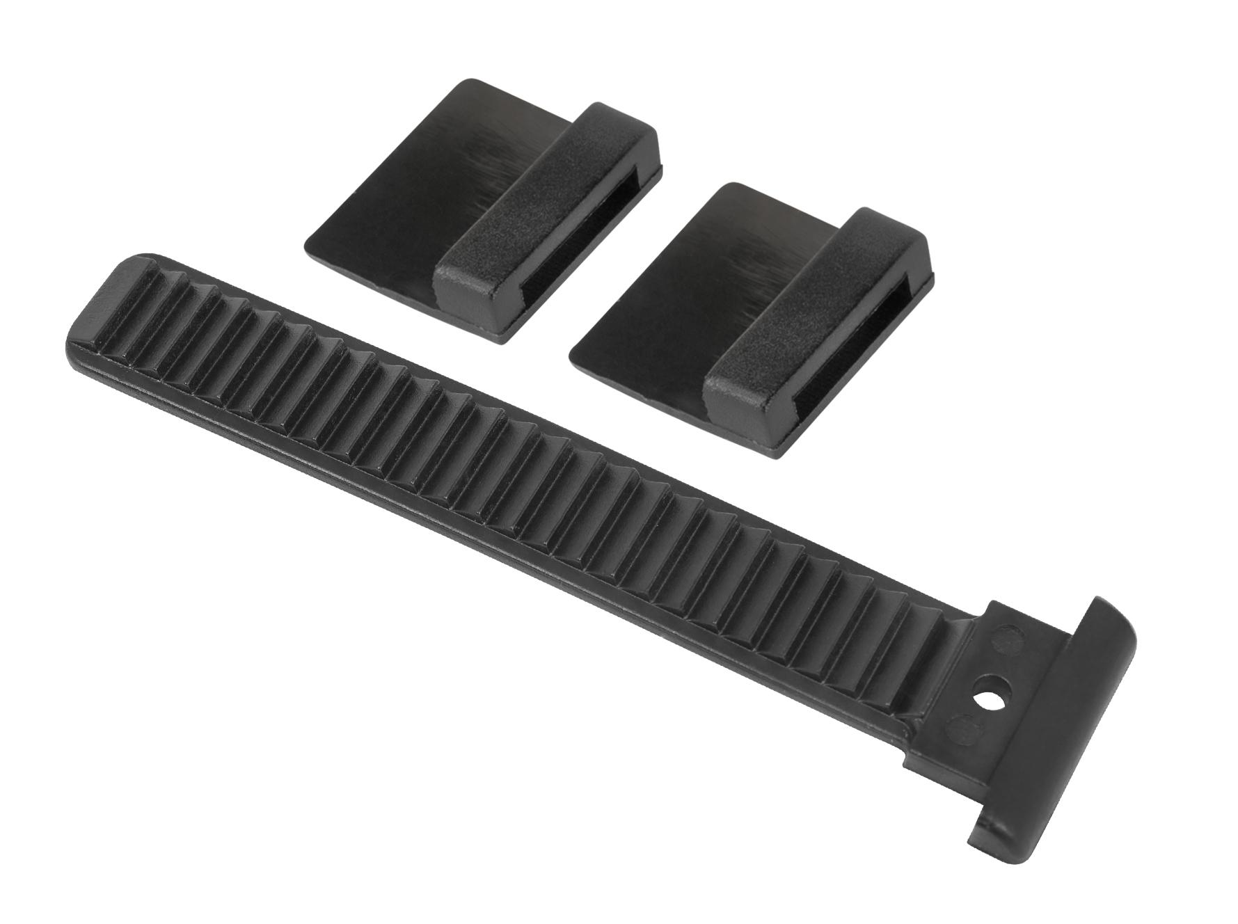 páska upínací-náhradní do přesky na tretry, černá