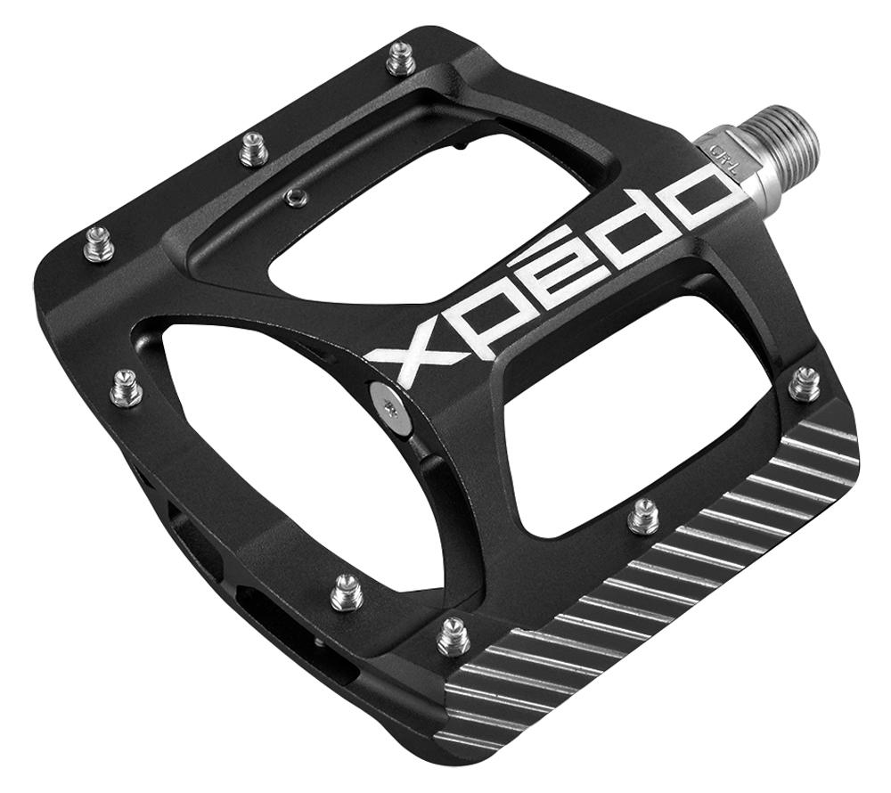 pedály X-PEDO BMX ZED hliníkové, černé