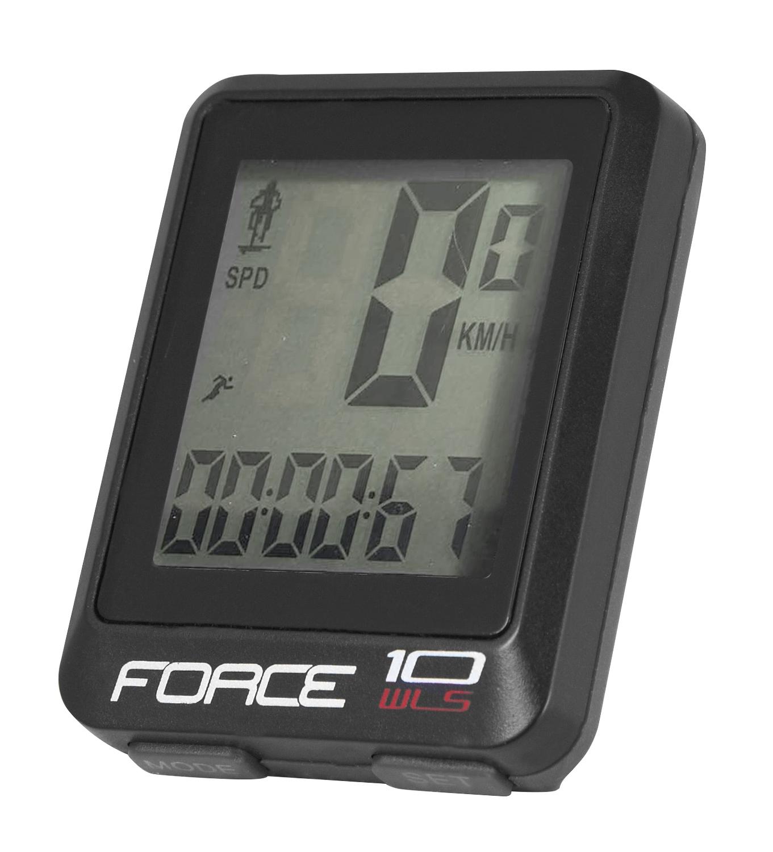 počítač FORCE WLS 10 funkcí, bezdrát, černý