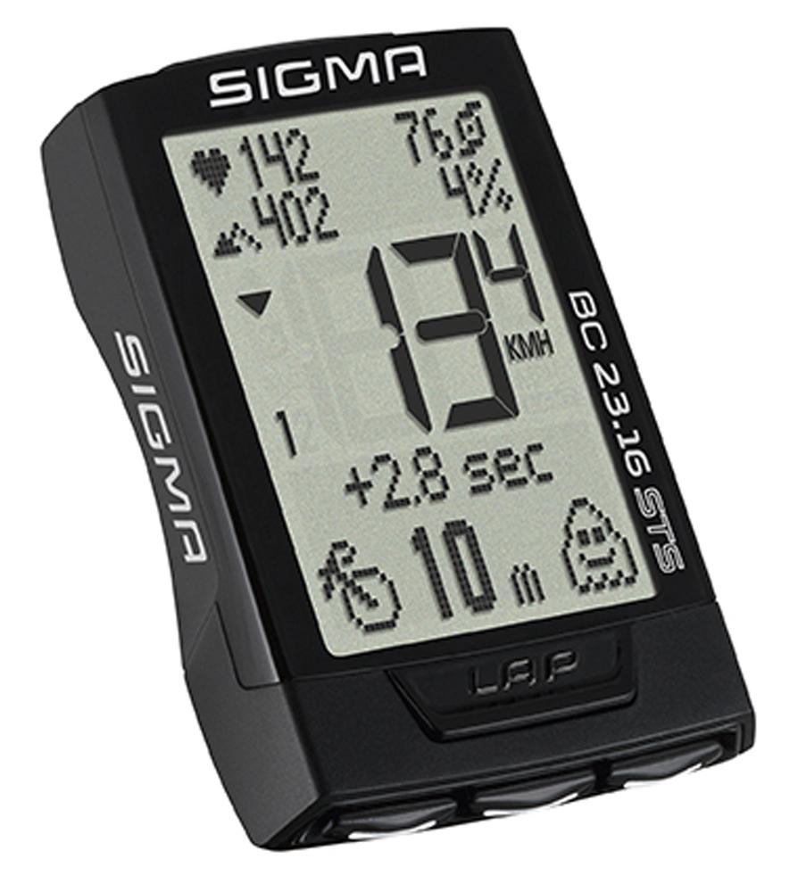 počítač SIGMA BC 23.16 STS, 23 funkcí, černý