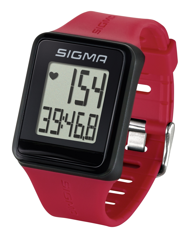 počítač SIGMA pulsmetr iD.GO červený
