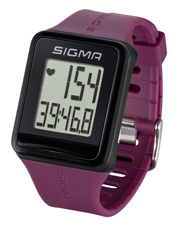 počítač SIGMA pulsmetr iD.GO fialový