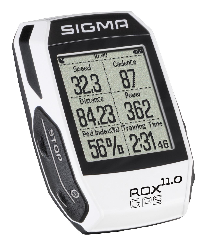 počítač SIGMA ROX 11.0 GPS SET, ANT+, bílý