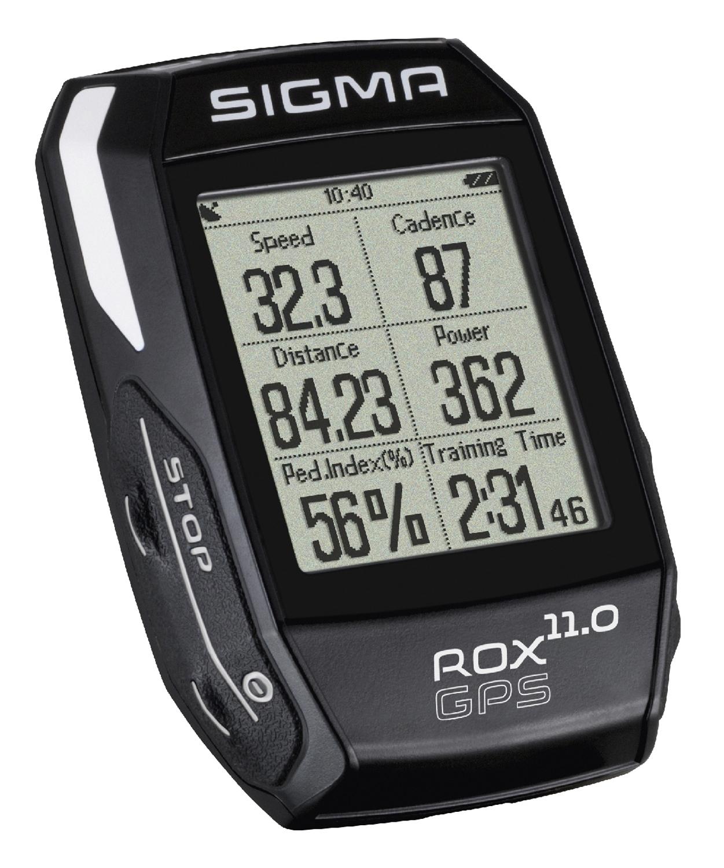 počítač SIGMA ROX 11.0 GPS SET, ANT+, černý